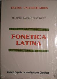 Libro FONETICA LATINA