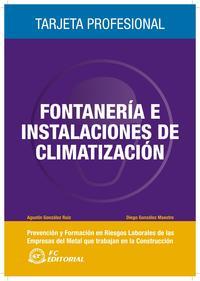 Libro FONTANERIA E INSTALACIONES DE CLIMATIZACION