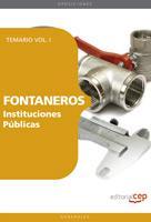 Libro FONTANEROS INTITUCIONES PUBLICAS: TEMARIO VOL. I.