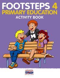 Libro FOOTSTEPS 4. ACTIVITY BOOK. EDUCACIÓN PRIMARIA SEGUNDO CICLO