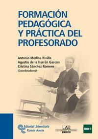 Libro FORMACION PEDAGOGICA Y PRACTICA DEL PROFESORADO