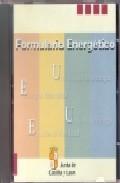 Libro FORMULARIO ENERGETICO: USO RACIONAL DE LA ENERGIA. ENERGIAS RENOV ABLES. UNIDADES DE ENERGIA. ESTUDIOS DE VIABILIDAD