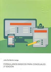 Libro FORMULARIOS BASICOS PARA CONCEJALES