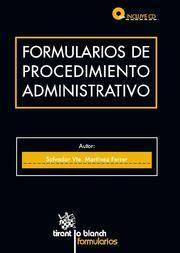 Libro FORMULARIOS DE PROCEDIMIENTO ADMINISTRATIVO
