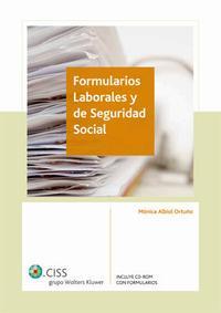 Libro FORMULARIOS LABORALES Y DE SEGURIDAD SOCIAL
