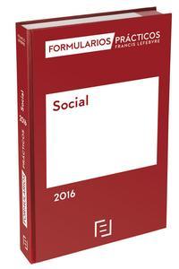 Libro FORMULARIOS PRÁCTICOS SOCIAL 2016