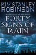 Libro FORTY SIGNS OF RAIN