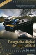 Libro FOTOGRAFIA DIGITAL DE ALTA CALIDAD