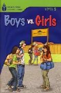Libro FOUNDATION READERS LEVEL 5.4-BOYS VS.GIRLS