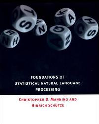 Libro FOUNDATIONS OF STATISTICAL NATURAL LANGUAGE PROCESSING