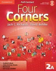 Libro FOUR CORNERS LEVEL 2 FULL CONTACT A WITH SELF-STUDY CD-ROM