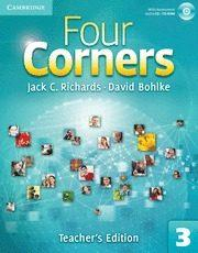 Libro FOUR CORNERS LEVEL 3 TEACHER S EDITION WITH ASSESSMENT AUDIO CD/CD-ROM