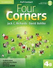 Libro FOUR CORNERS LEVEL 4 FULL CONTACT B WITH SELF-STUDY CD-ROM