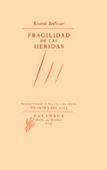 Libro FRAGILIDAD DE LAS HERIDAS