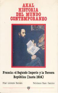 Libro FRANCIA: EL II IMPERIO Y LA III REPUBLICA