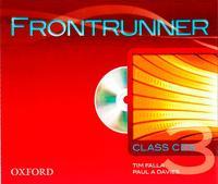 Libro FRONTRUNNER 3 CLASS AUDIO CD