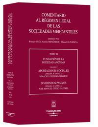 Libro FUNDACION DE LA SOCIEDAD ANONIMA. APORTACIONES SOCIALES