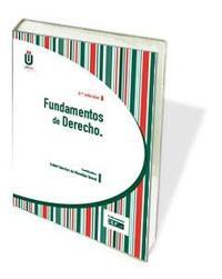 Libro FUNDAMENTOS DE DERECHO