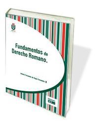 Libro FUNDAMENTOS DE DERECHO ROMANO