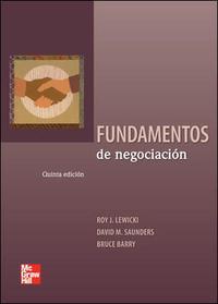 Libro FUNDAMENTOS DE NEGOCIACION