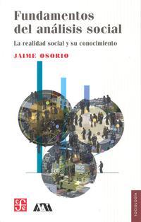 Libro FUNDAMENTOS DEL ANALISIS SOCIAL