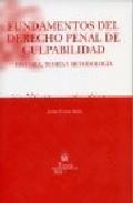 Libro FUNDAMENTOS DEL DERECHO PENAL DE CULPABILIDAD: HISTORIA, TEORIA Y METODOLOGIA