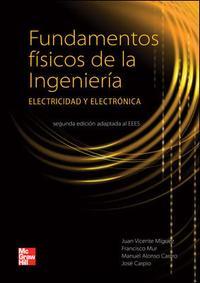 Libro FUNDAMENTOS FISICOS DE LA INGENIERIA: ELECTRICIDAD Y ELECTRONICA