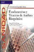 Libro FUNDAMENTOS Y TECNICAS DE ANALISIS BIOQUIMICO