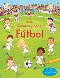 Libro FUTBOL COLOREO Y PEGO