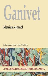 Libro GANIVET: IDEARIUM ESPAÑOL