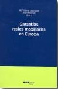 Libro GARANTIAS REALES MOBILIARIAS EN EUROPA
