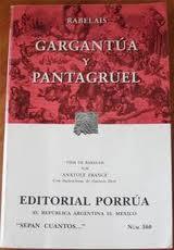 Libro GARGANTUA Y PANTAGRUEL