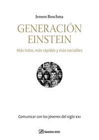 Libro GENERACION EINSTEIN