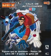 Libro GENERATOR REX. CAJA DE ACTIVIDADES 3D