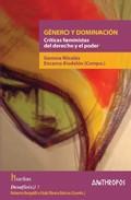 Libro GENERO Y DOMINACION: CRITICAS FEMINISTAS DEL DERECHO Y EL PODER