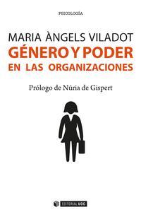 Libro GENERO Y PODER EN LAS ORGANIZACIONES