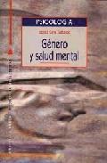 Libro GENERO Y SALUD MENTAL