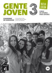 Libro GENTE JOVEN 3 NUEVA EDICIÓN CUADERNO DE EJERCICIOS + CD