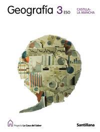 Libro GEOGRAFIA - CASTILLA-LA MANCHA: 3º ESO