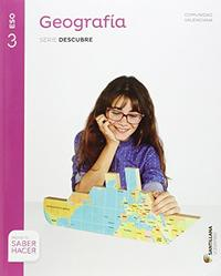 Libro GEOGRAFIA CASTELLANO / VALENCIANO 3º SECUNDARIA ED 2015