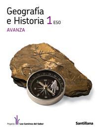 Libro GEOGRAFIA E HISTORIA 1º ESO AVANZA ED 2011 CAST