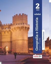 Libro GEOGRAFIA E HISTORIA 2º ESO CASTELLANO VALENCIA