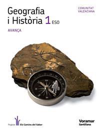Libro GEOGRAFIA E HISTORIA AVANÇA ED 2011 VALENCIA