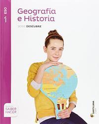 Libro GEOGRAFIA E HISTORIA CAST/EUSK  ED 2015  1º SECUNDARIA