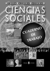 Libro GEOGRAFIA E HISTORIA. PRIMERO Y SEGUNDO CURSOS. CUADERNO