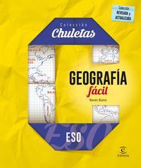Libro GEOGRAFIA FACIL PARA LA ESO