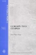 Libro GEOGRAFIA FISICA DE ESPAÑA