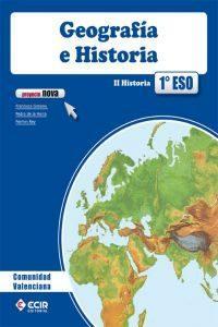 Libro GEOGRAFIA HISTORIA 1º ESO PRYECTO NOVA ED 2012 VALENCIA