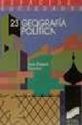 Libro GEOGRAFIA POLITICA