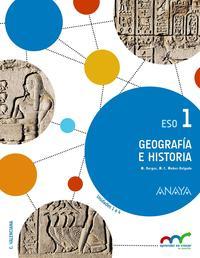 Libro GEOGRAFÍA E HISTORIA 1º ESO COMUNIDAD VALENCIANA